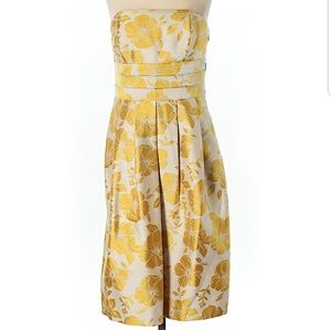 🆕️ NWT - Ann Taylor Fall Floral Strapless Dress